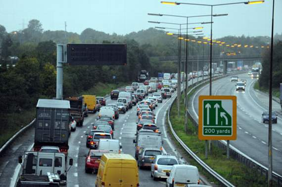 TRAFFIC: Congestion in Stanford-le-Hope