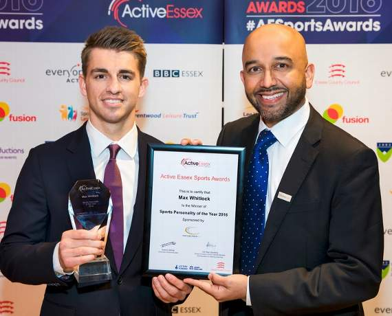 Basildon Olympic gymnast Max Whitlock wins two sports awards