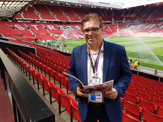 Yellow Sports Brian Jeeves reporting from Old Trafford