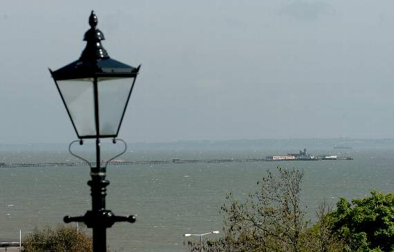 High tide at Southend Pier from Monday June 19: (BST)