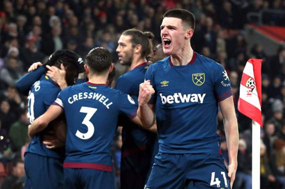 Declan Rice signs new long-term contract with West Ham