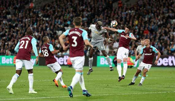West Ham force Manchester United to goalless draw